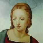 sandro_bastioli_omaggio a Raffaello_olio su tela_cm. 40x50